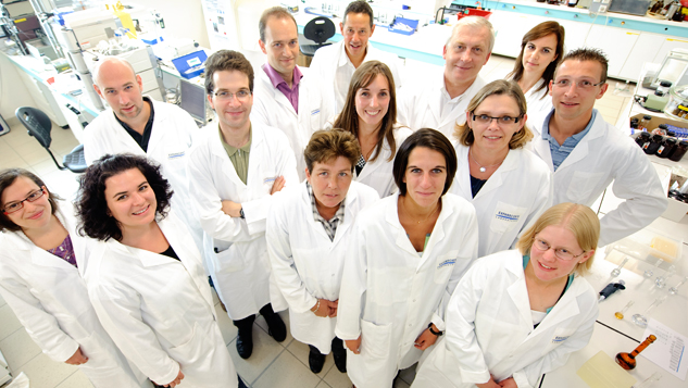 Research & Development Team van Laboratoires Expanscience